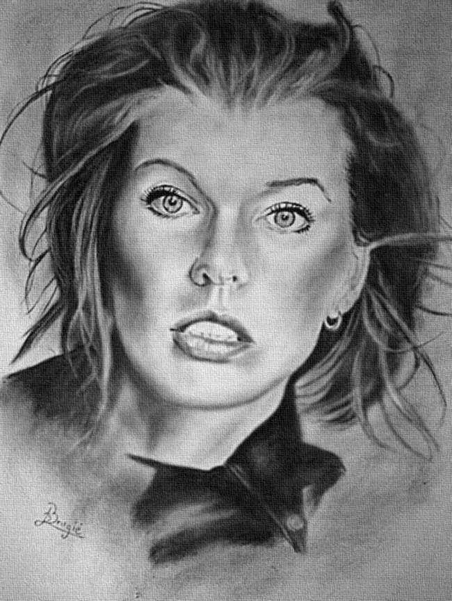 Milla Jovovich by burdge12